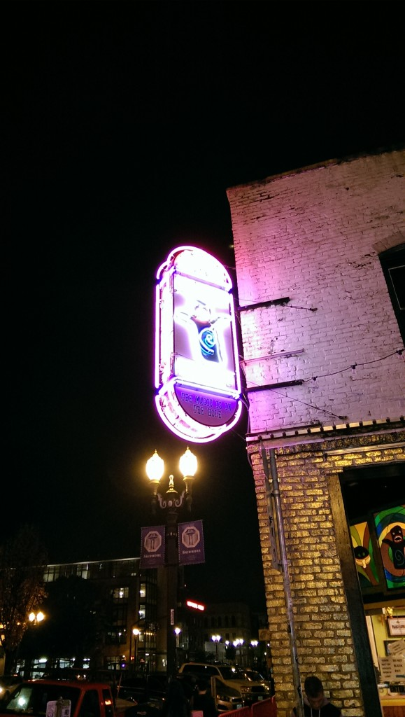 Outside of Voodoo Doughnuts
